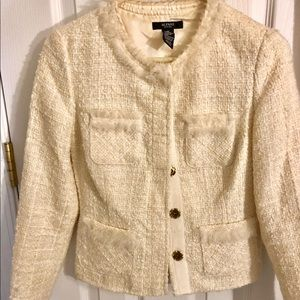 Alfani Cream Jacket